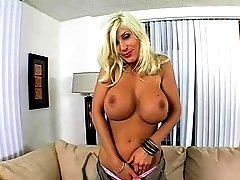 Cute blonde bimbo Puma Swede gets fully satisfied
