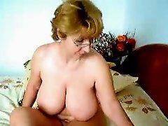 Naked Grandma Teasing