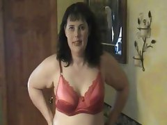 red bra on bbw