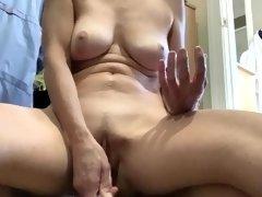 Dildo In My Milf Pussy