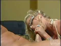 Crayola Blu lets a dude fuck her pierced cunt and hot butt