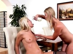 Nice lesbian girls get splashed with pee and squirt wet snat