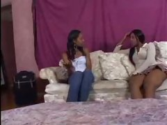 Bella Leon and Misty Stone