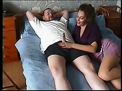 beauty milf suck a cock