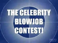 the celebrities blowjob contest