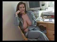 Linsey Dawn McKenzie - office interview.